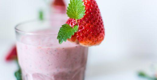 Erdbeer Eierlikör Smoothie Rezept