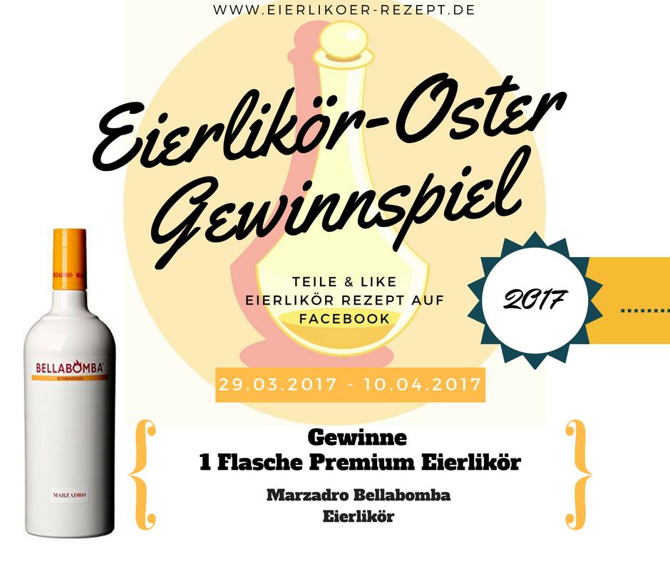 Eierlikör Oster Gewinnspiel 2017