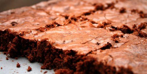 Schoko Eierlikör Brownies mit Vanille