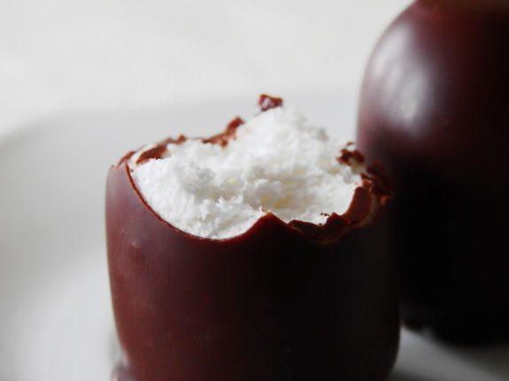 Schokokuss Eierlikör Quark Dessert